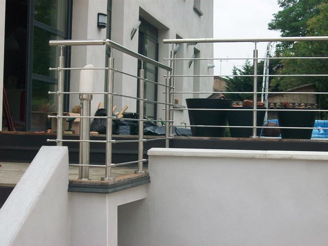 galerie photos garde corps r alisations de garde corps en inox oxynov. Black Bedroom Furniture Sets. Home Design Ideas